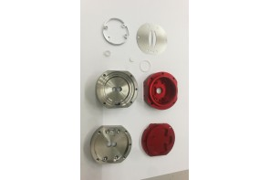 Aluminum anodized parts