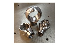 Precision CNC milled steel parts